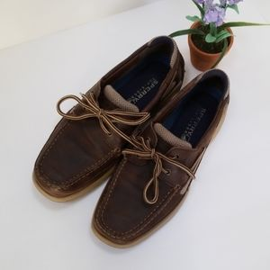 Sperry  Top-sider Brown Leather Boat shoes Sz 9.5